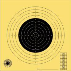 BDMP-Scheibe Nr. 1  für 100 m