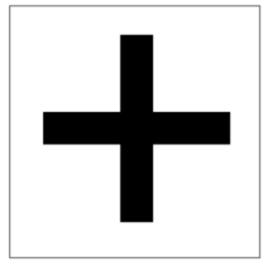 Balkenkreuzscheibe