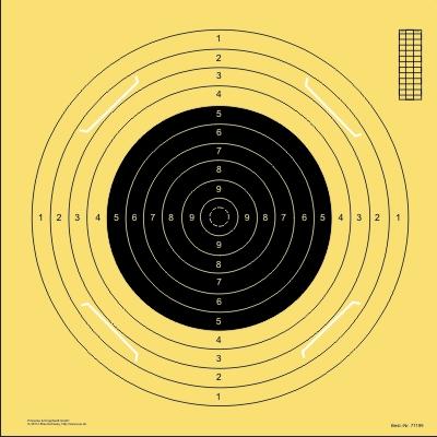 BDS-Scheibe Nr. 1. 100 m