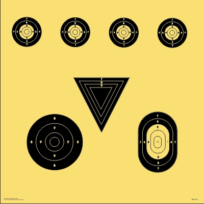 BDS-Scheibe Nr. 6. BDS Symbolscheibe