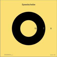 BDS-Scheibe Nr. 10. Speed-Scheibe