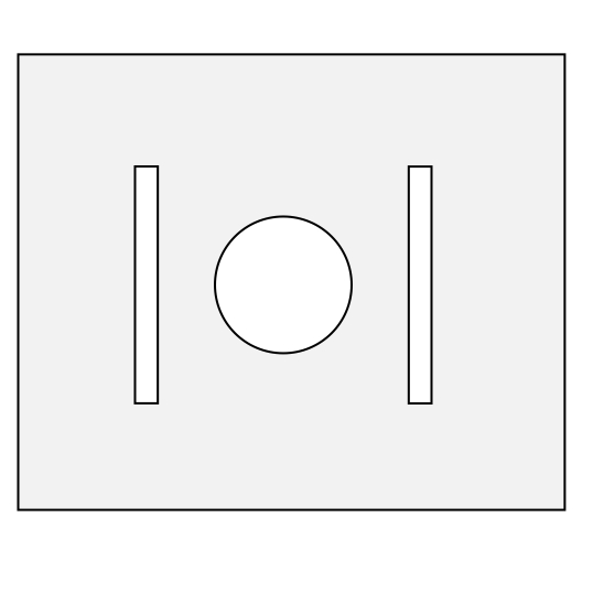 LG-Scheibenstreifen Halter für 5.2 cm Scheibenstreifen