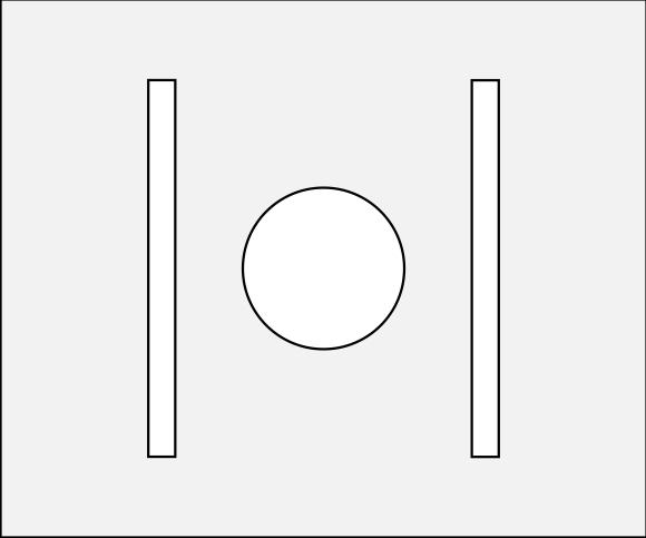 LG-Scheibenstreifen Halter für 7 cm Scheibenstreifen
