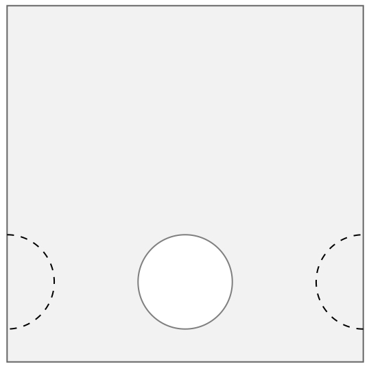 LG-Scheibenstreifen Kassette. versetzt