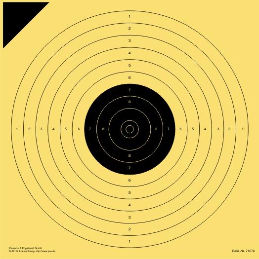 LP-Scheibe 10 m (Probe)