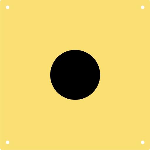 Für MEYTON-Anlagen/Luftpistole-Scheibenbild 10 m