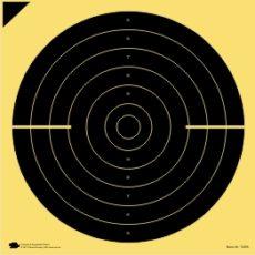 Schnellfeuer-/Duell-Scheibe 25 m (Probe)