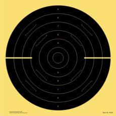 Schnellfeuer-/Duell-/Pistolen-Scheibe 25 m