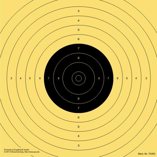 LP-Spiegel 10 m