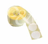 Schusspflaster Durchmesser 25 mm weiß