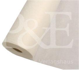Kunststoff - Vlies. Breite 130 cm. 100 % Polyester. Flächengewicht ca. 130 g/m²