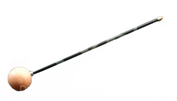 Putzstock mit Holzkugel-Drehgriff