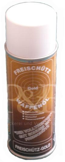 Freischütz Waffenöl Spray Gold