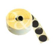 Schusspflaster Durchmesser 15 mm schwarz
