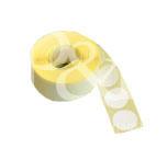 Schusspflaster Durchmesser 15 mm weiß