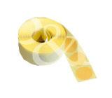 Schusspflaster Durchmesser 15 mm braun