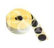 Schusspflaster Durchmesser 20 mm schwarz