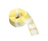 Schusspflaster Durchmesser 20 mm weiß
