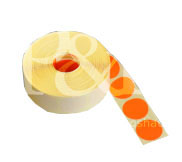 Schusspflaster Durchmesser 20 mm rot