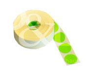 Schusspflaster Durchmesser 25mm grün