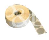 Schusspflaster Durchmesser 15 mm grau