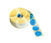 Schusspflaster Durchmesser 20 mm blau