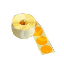 Schusspflaster Durchmesser 25 mm orange