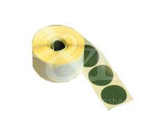 Schusspflaster Durchmesser 25 mm oliv