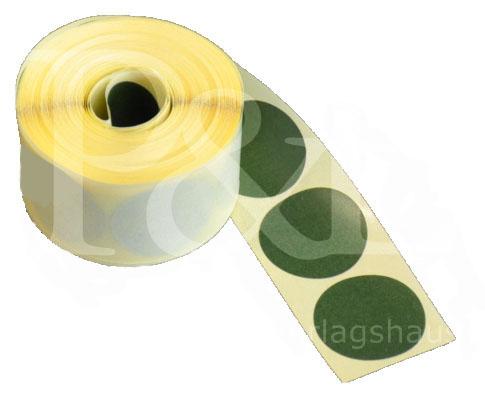 Schusspflaster für DSU-Scheiben. Ø 20 mm